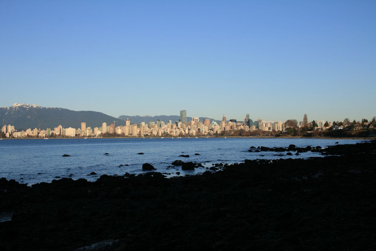 An unbelievably gorgeous February day in Vancouver
