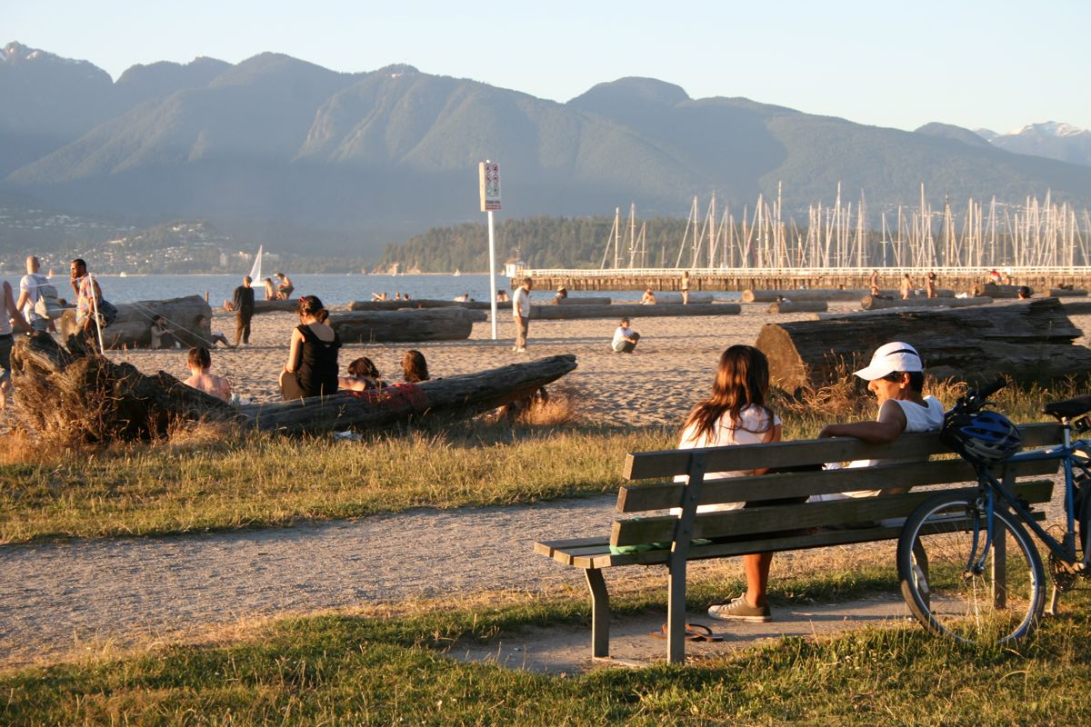Jericho Beach in July