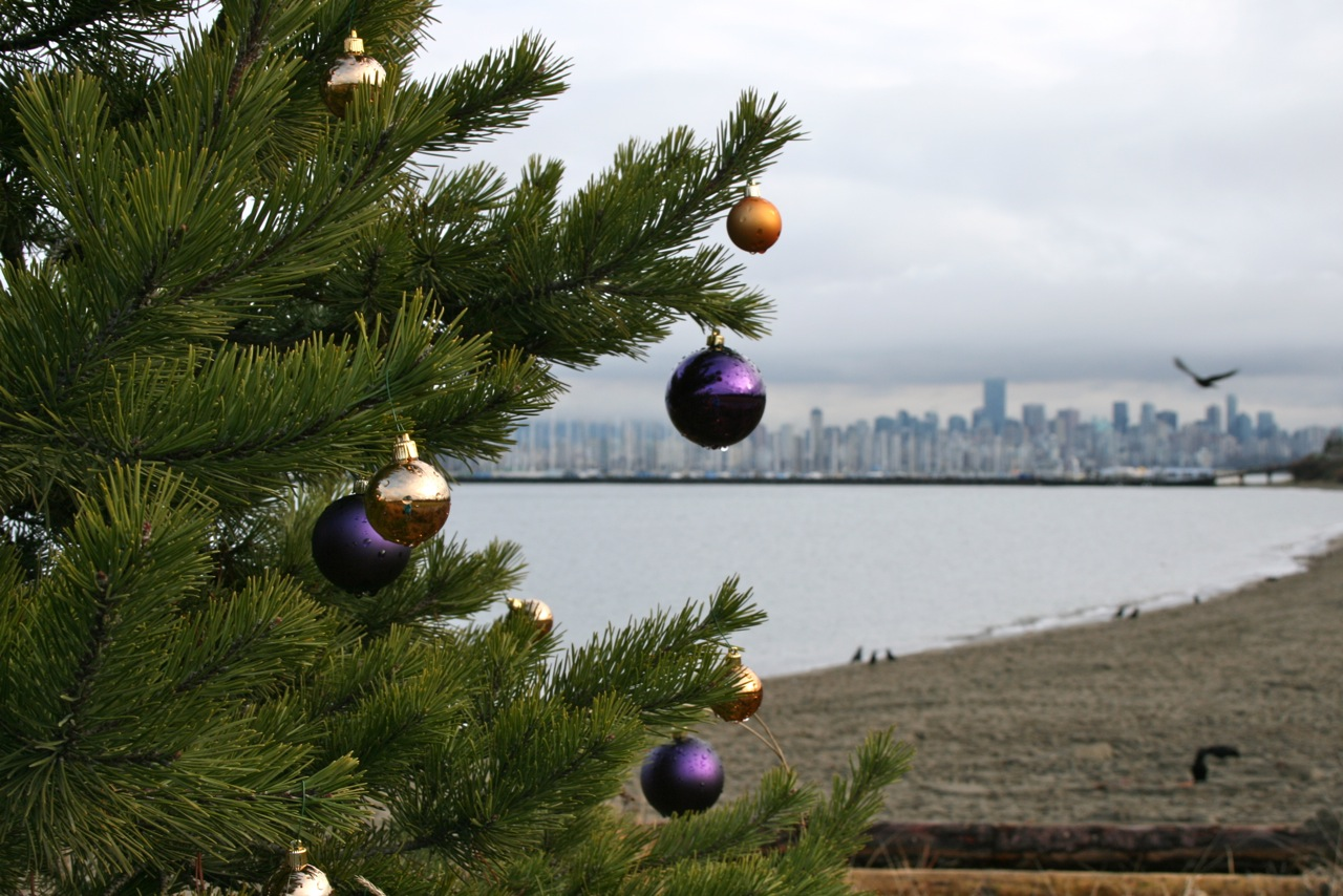 Seasons greetings from Vancouver, BC