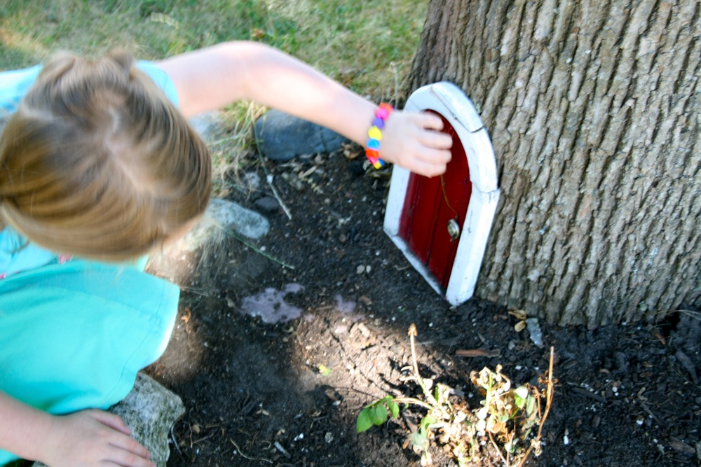 The fairy door was curiously immune to tickles